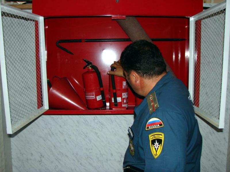Правила пожарной безопасности на предприятии